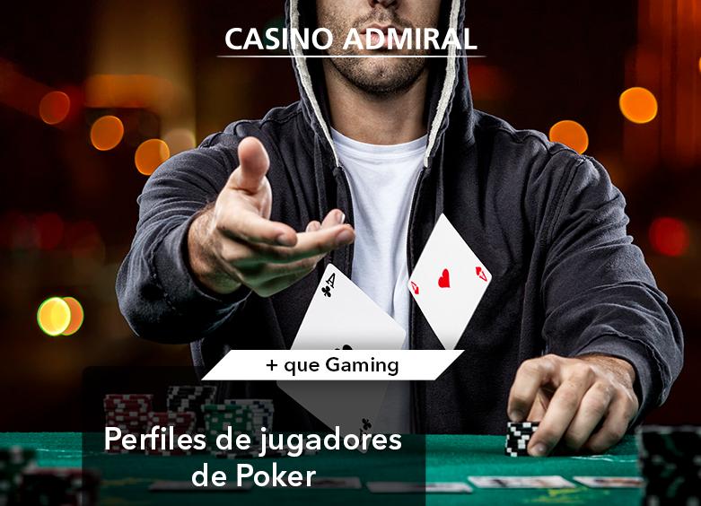 Perfiles de jugadores de poker en Casino Admiral Sevilla